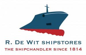 Logo R. de Wit Shipstores 2016